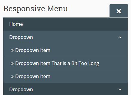 Responsive Dropdown Menu In Vanilla JavaScript