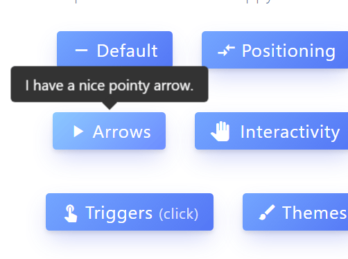 Customizable Interactive Tooltips In Pure JavaScript - Tippy js