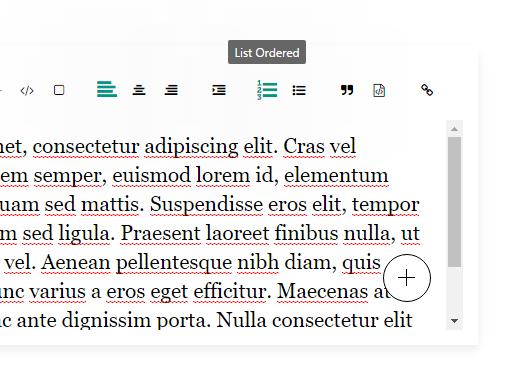 Minimal Clean WYSIWYG Editor In Pure JavaScript - v2editor js | CSS