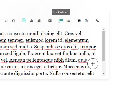 Minimal Clean WYSIWYG Editor In Pure JavaScript – v2editor.js