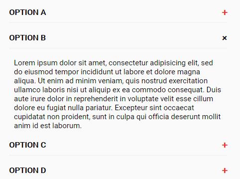 Basic Responsive Accordion In Vanilla JavaScript – Accordionjs