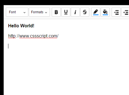 Minimal WYSIWYG Editor In Pure JavaScript – Suneditor
