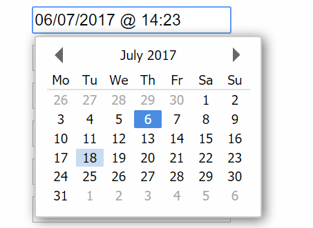 Highly Configurable Date Time Picker With Pure JavaScript