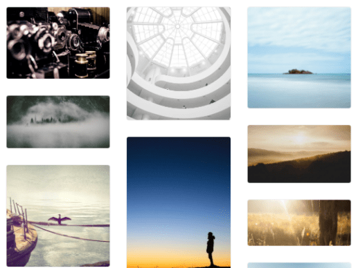 Pinterest-Like Dynamic Grid Layout Plugin with jQuery - Wookmark