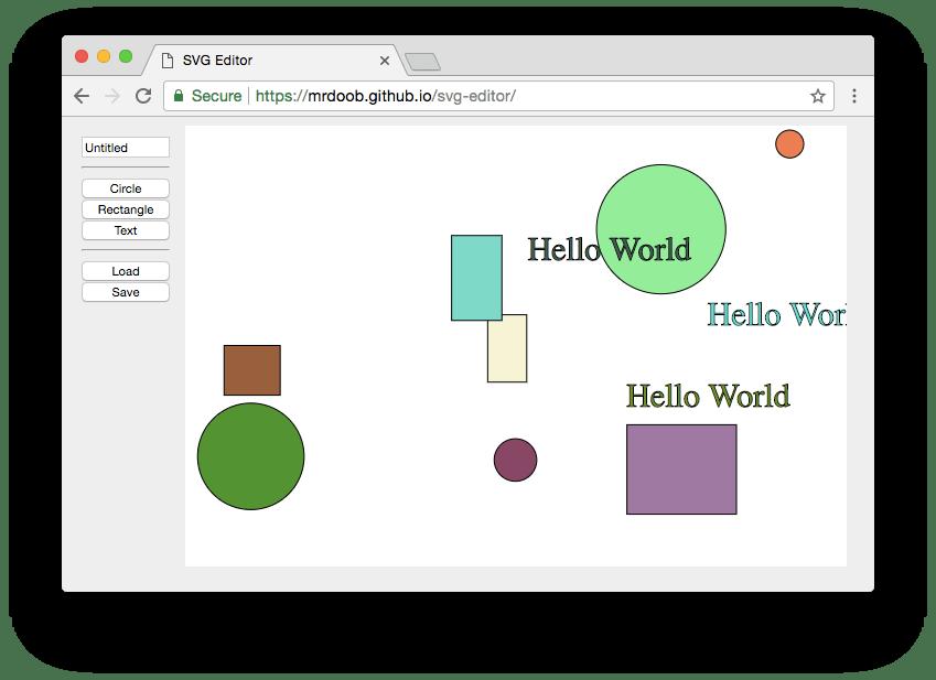 Minimal SVG Editor In Pure JavaScript | CSS Script