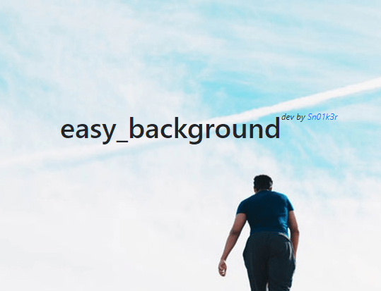 Basic Background Slideshow In JavaScript – easy_background