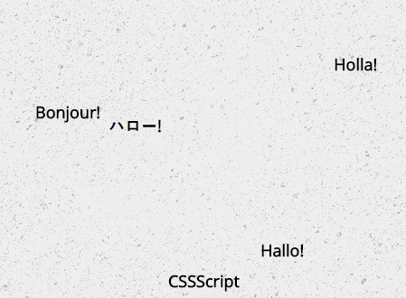 Animated Random Word Cloud Generator In JavaScript – wlcm