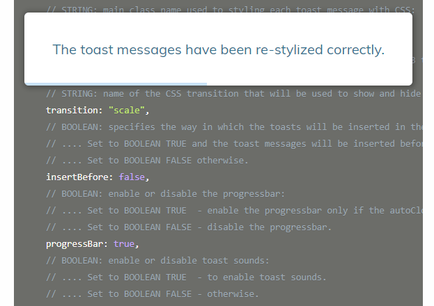 Modern Toast Notification With Sounds And Countdown Bars – Toasty.js