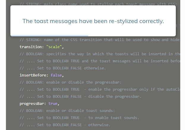 Toasty.js