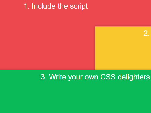 Declarative Flexible Scroll Animation Library – Delighters.js