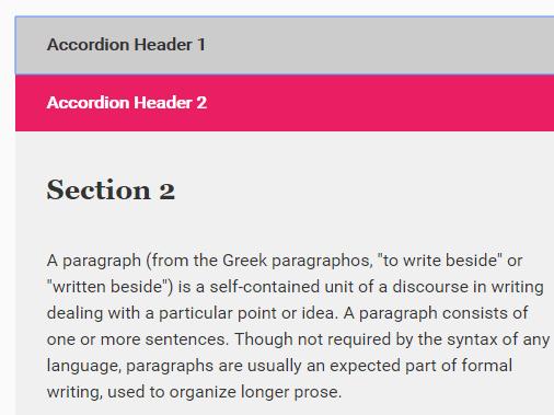 Accessible Accordion Component For JavaScript – A11Y Accordion