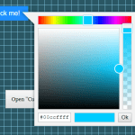 Vanilla JS Color Picker With Alpha Channel – vanilla-picker