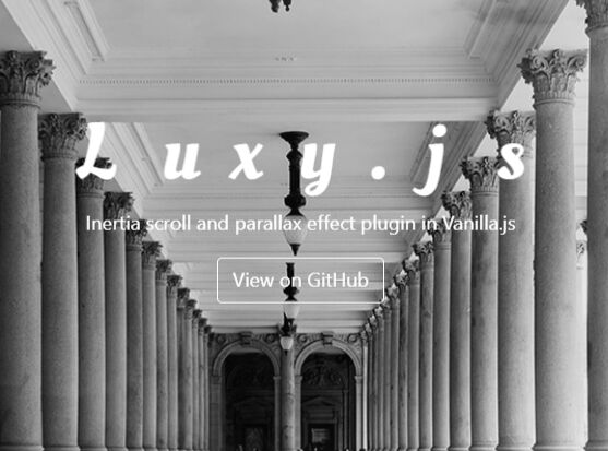 Smooth Inertial & Parallax Scroll Effects In JavaScript – luxy.js