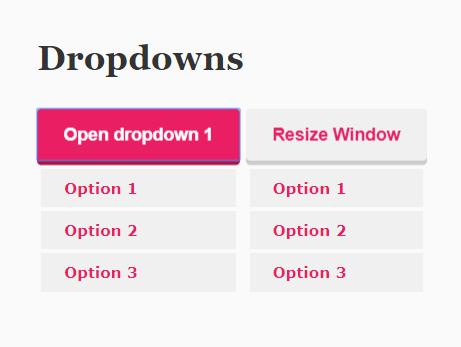 Accessible Dropdown Menu Component In Vanilla JavaScript – a11y-dropdown-component - CSS Script [en]
