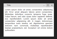 Draggable & Maximizable Dialog Window In Pure JavaScript - WindowJS