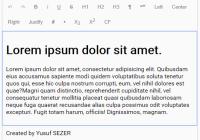Simple Extensible WYSIWYG Editor - ysEditor.js-min