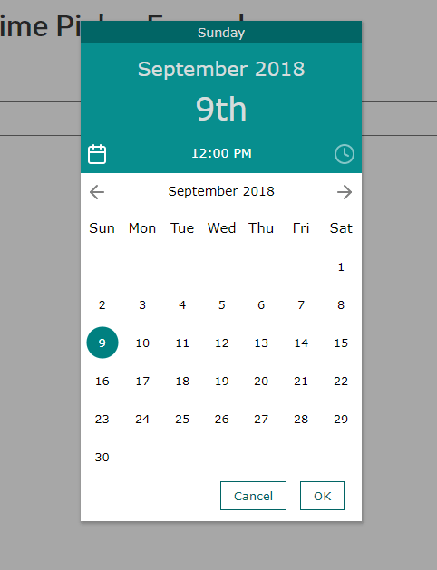 Material Inspired Date & Time Picker – simplePicker
