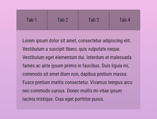 Modern Tabbing System In Vanilla JavaScript – Tabby