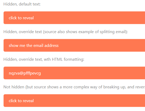 Hide & Encode Email Address To Prevent Spam Bot – jsNoSpam