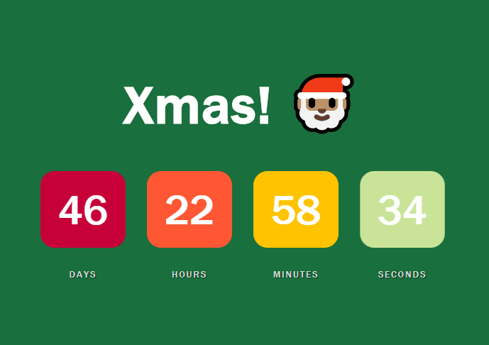 Flip Countdown Clock With JS And CSS3 - Countdown js | CSS