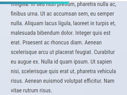 Minimalist Scroll Position / Reading Progress Indicator – scrollpup.js