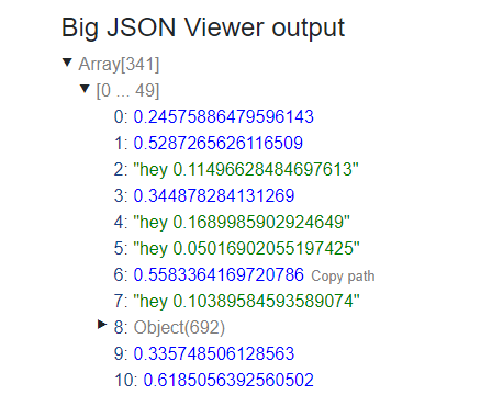Performant Large JSON Viewer In Vanilla JavaScript | CSS Script