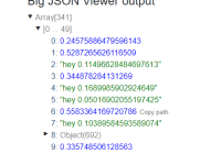 Performant Large JSON Viewer In Vanilla JavaScript
