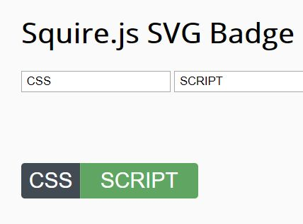 Generate Customizable Badges Using JavaScript And SVG – Squire.js
