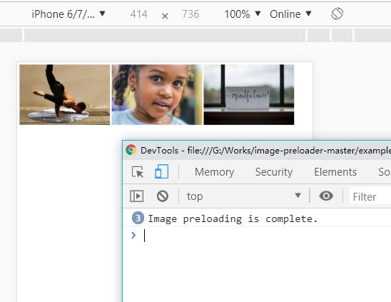 Image Preloader With Loaded Callback – ImagePreloader