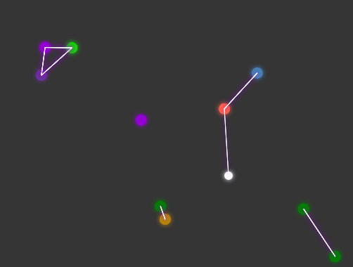 Interactive Particles Animation In Pure JavaScript