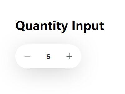 Quantity Input