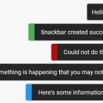 Smooth Snackbar & Toast Notification In JavaScript – js-snackbar