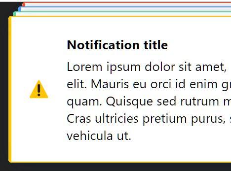 Handy Pure JavaScript Notification Library