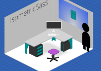 2D Isometric Engine In Pure CSS SASS - IsometricSass