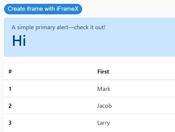 Dynamic Iframe Generator In Pure JavaScript – iFrameX