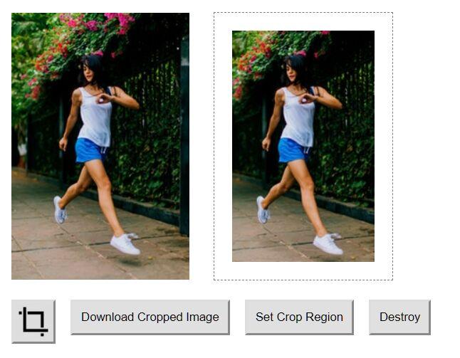 Crop Image Before Uploading – jsCrop.js