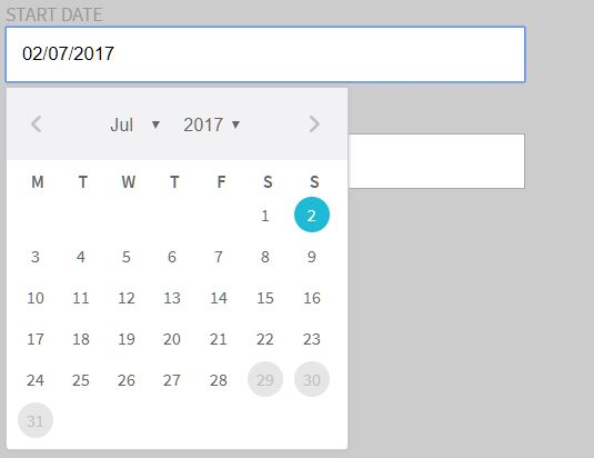 Pure JavaScript Date Picker – FooPicker