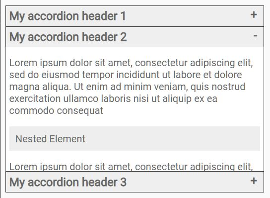 Small Fast Accordion Plugin In Pure JavaScript – CFAccordion