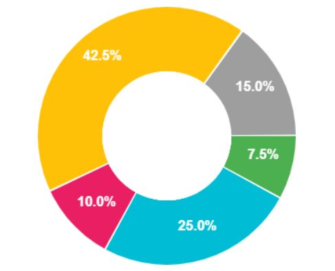 Animated Pie/Donut/Ring Chart With Canvas And JavaScript – rpie.js
