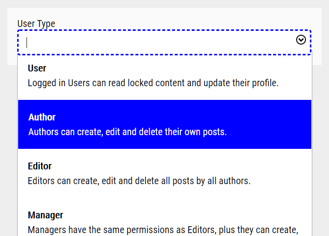 Custom Filterable Select Input In Pure JavaScript