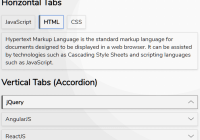 Accessible Tabs & Accordion Library - aria-tablist
