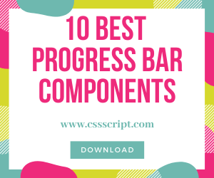 Top 10 JavaScript & CSS Progress Bar Components