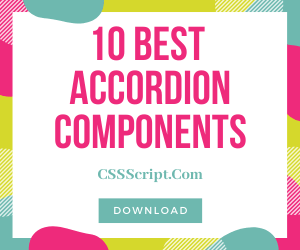 10 Best Accordions Components In Pure JavaScript & CSS