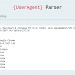 Browser Detector & UserAgent Parser – browser-dtector.js