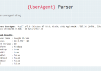 Browser Detector & UserAgent Parser - browser-dtector.js