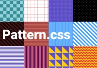 12 Pure CSS Patterns For Backgrounds - pattern.css