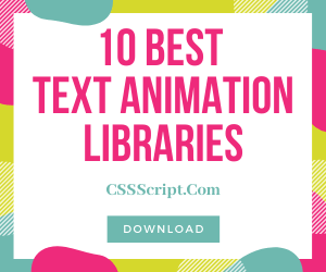10 Best Typewriter Text Animation JavaScript Libraries