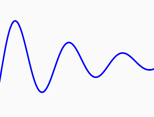 Minimalist Cavas Waves In JavaScript – wavy.js