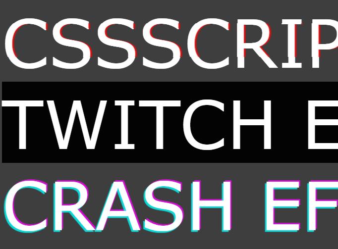 Interactive Glitch/Noise Effects – glitch.js