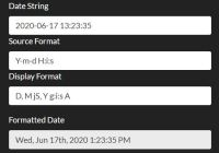 Parse And Format Datetime Strings Using PHP DateTime Formats
